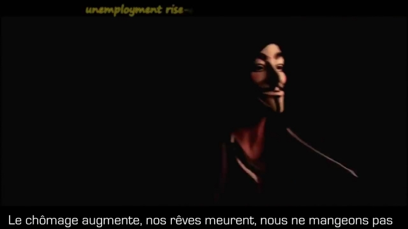 Anonymous Song ▶ The Anonymous Occupation Alliance (FR)