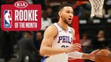 Ben Simmons | Rookie Of The Month | March 2018 #NBANews #NBA #76ers #BenSimmons