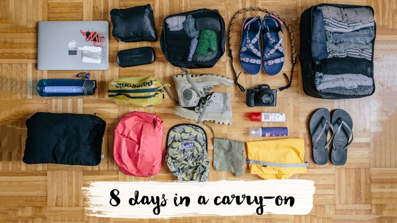Packing tips hacks What I packed for the Amazonian (carry-on only) | Dariadaria