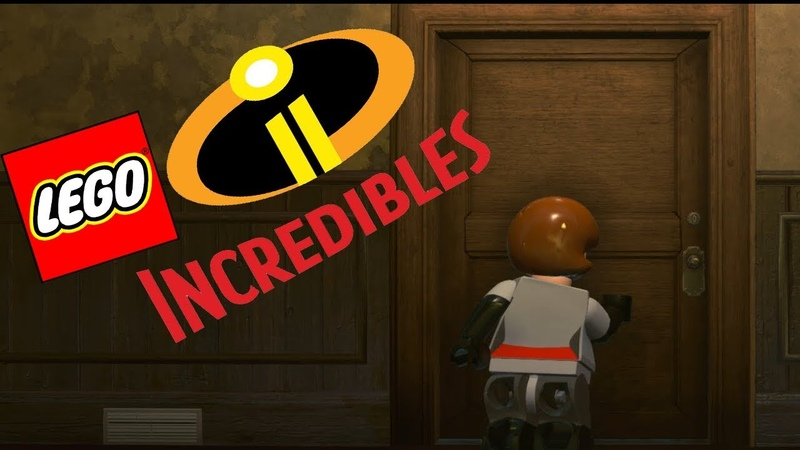 БАЗА ЭКРАНОТИРАНА--Lego The Incredibles 4