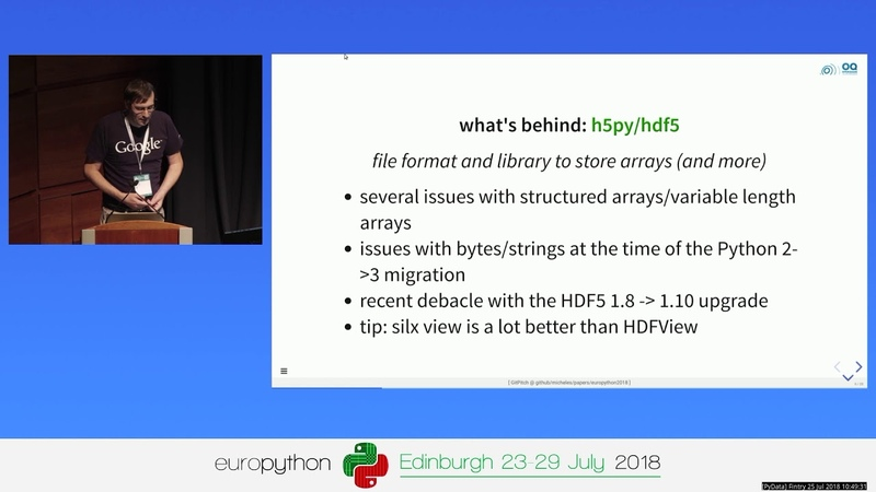 Python in scientific computing: what works and what doesn't – Michele Simionato