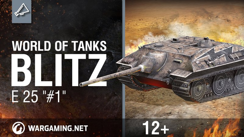WoT Blitz. E 25 1