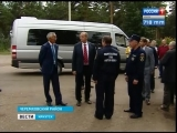 Сергей Левченко посетил с рабочим визитом Свирск в день 69-летия города