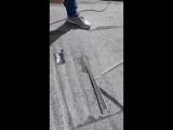 Обнаружение дефекта оборудованием ИЗОТЕСТ 2.0 и ремонт самоклеющейся заплаткой NEXT ГЕРМЕТЕКС