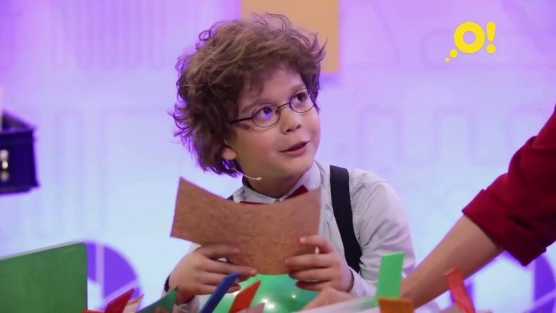 Кай Гетц в роли ведущего в уникальном научном проекте Лабораториум для детского телеканала Карусель.