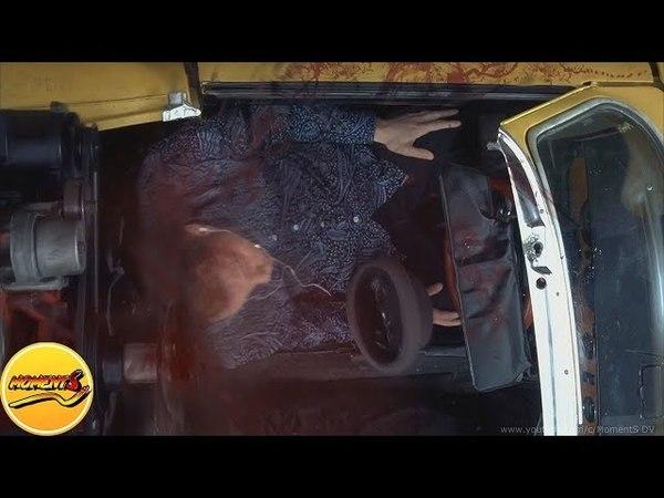 Двигатель разрубает голову.Фильм «Пункт назначения 3» (Final Destination 3, 2006)