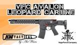 Страйкбольный автомат VFC AVALON LEOPARD CARBINE AV1-M4-LOP-M-BK01