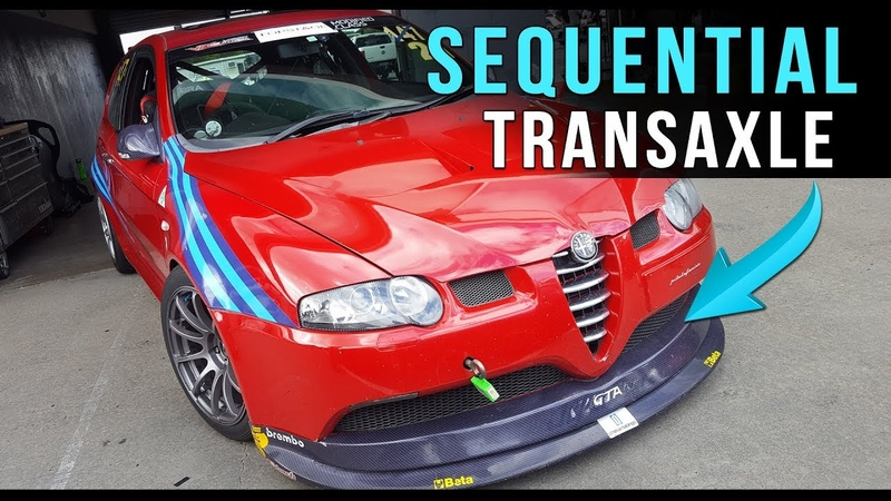 Awesome FWD Alfa Romeo 147 GTA V6 3.2 with Sequential Gearbox and TorSen T-3 Front Diff.