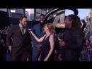 Крис Пратт и Уинстон Дьюк на премьере Войны Бесконечности в Лос-Анджелесе
