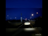 19 км трасса Сургут - Лянтор. В атмосфере сгорел какой-то объект. Возможно метеорит.