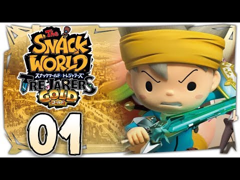 The Snack World Trejarers Gold | The Start of a Great Adventure! [Chapter 1 on Nintendo Switch]