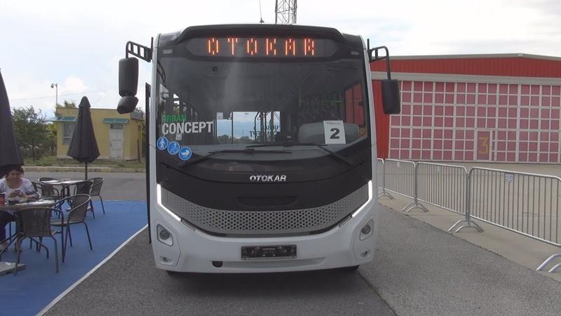 Otokar Urban Concept Bus Exterior and Interior