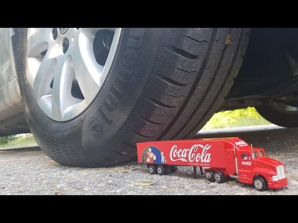 EXPERIMENT Car vs Coca Cola Trucks Jano Tests