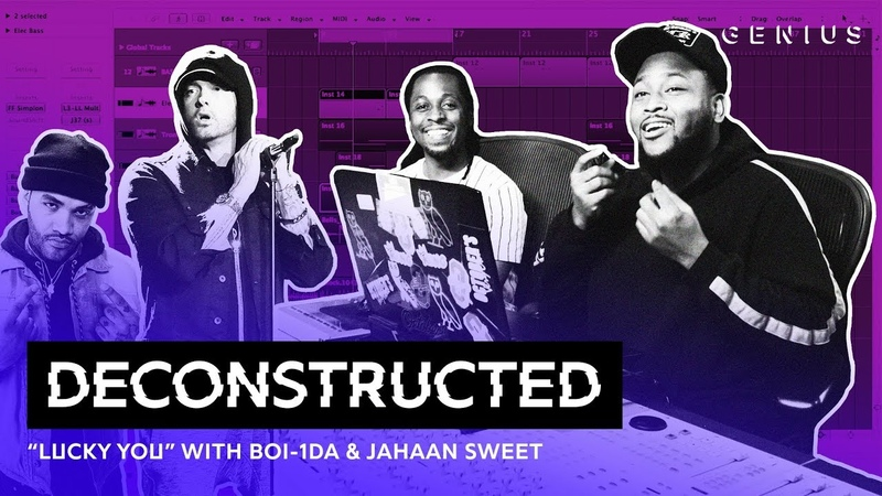 The Making Of Eminem's Lucky You With Boi-1da Jahaan Sweet | Deconstructed