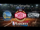 Golden State Warriors vs San Antonio Spurs | 22.04.2018 | NBA Playoffs 2018 | West | 1st Round | Game 4