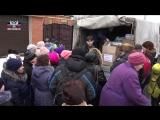 Сотрудники Макеевкокса передали помощь жителям поселка Веселое