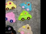 маленький автомобиль гладить на Нашивки для одежды детей DIY Вышивка патч аппликация Костюмы Наклейки Декоративные Малыш