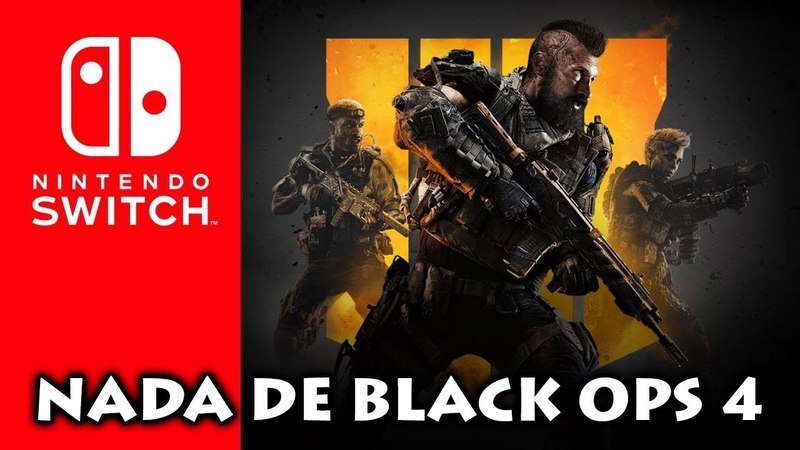 Falando sobre Call of Duty Blacks Ops 4 fora do Nintendo Switch