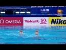 N. Ischenko_S. Romashina RUS Technical Duet Preliminary Kazan World Championsh 2015