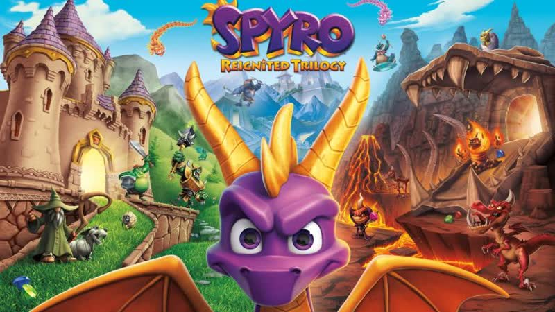 ФиолетовыйДракоша | Spyro Reignited Trilogy