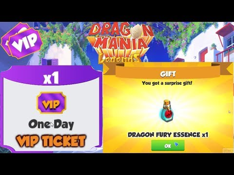 Thanks For Surprise Gift! VIP Dragon Fury - Gameplay - Dragon Mania Legends   part 890 HD