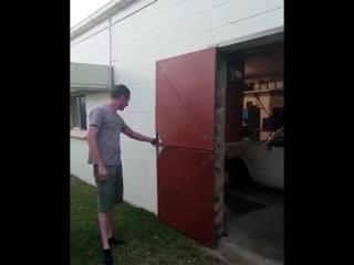 Kinetic Folding Door designed by Warwick Turwey design
