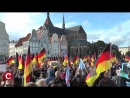 Erst Kauder dann Merkel Protest in Rostock Die Woche COMPACT