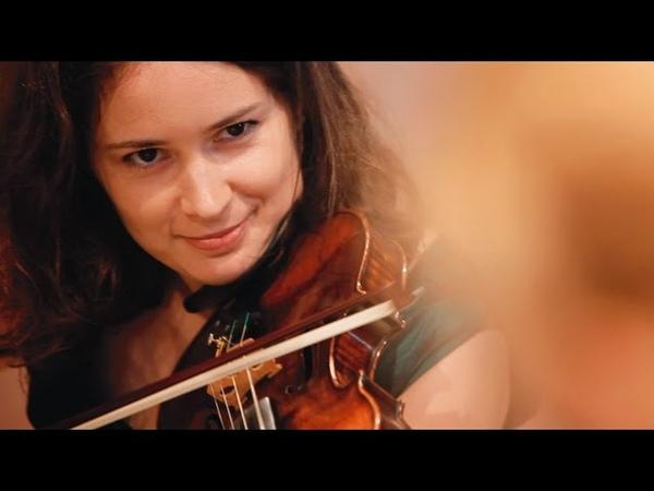 Patricia Kopatchinskaja Sakari Oramo: Ligeti Duo Balada si joc Encore with conductor