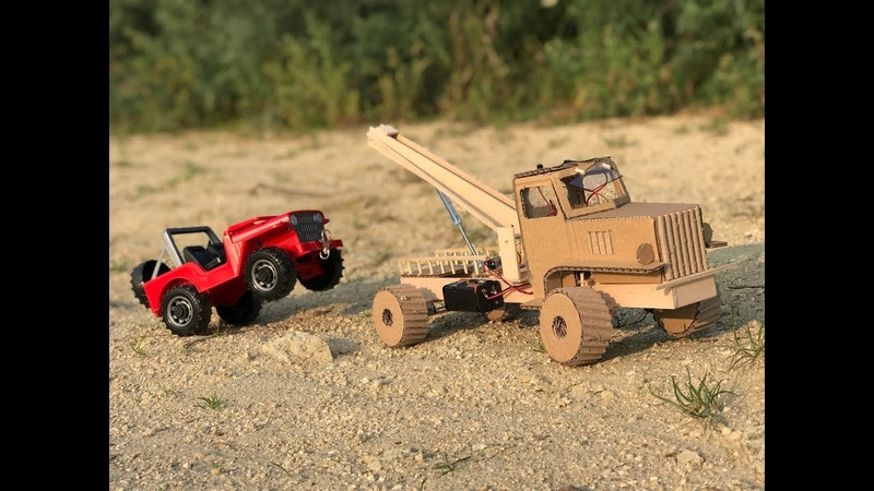 How to Make Chevrolet G506 4X4 Tow Truck - Baby Toy