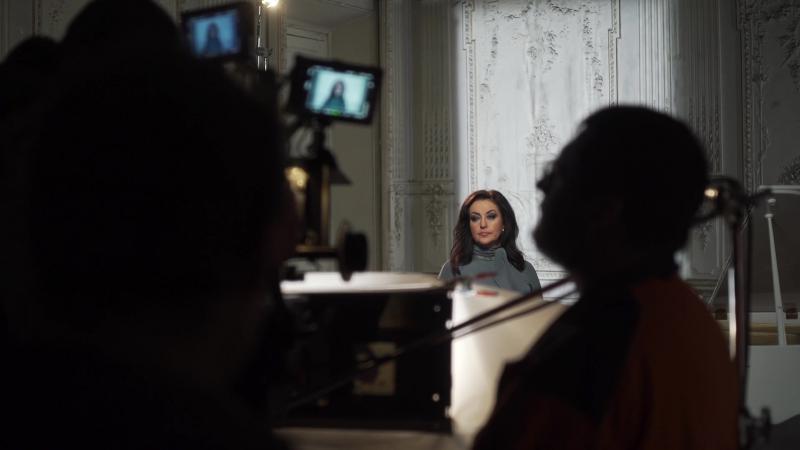 Фильм о клипе Тамары Гвердцители Я за тобою вознесусь