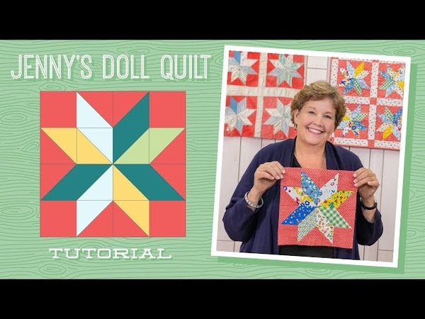 Learn How to Make Jennys Doll Quilt!