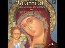 Canto Gregoriano a Vierge Marie Ave Gemma Coeli Gregorian Chant