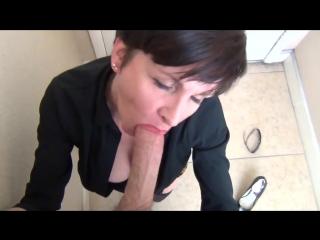 Mrs mischief — new neighbor wrecks you in the foyer (pov, milf)