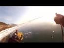[Народный патруль Постовой] Лыжник провалился в промоину на Байкале (Skier fell through the ice on Lake Baikal)