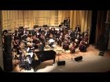 Оркестр настраивается на концерте Евгения Доги 08.12.17г.