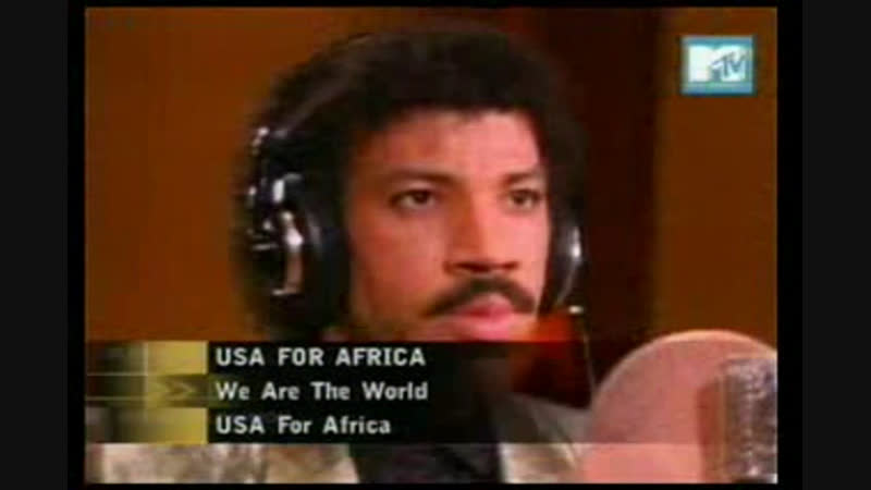 Usa for africa - we are the world mtv asia