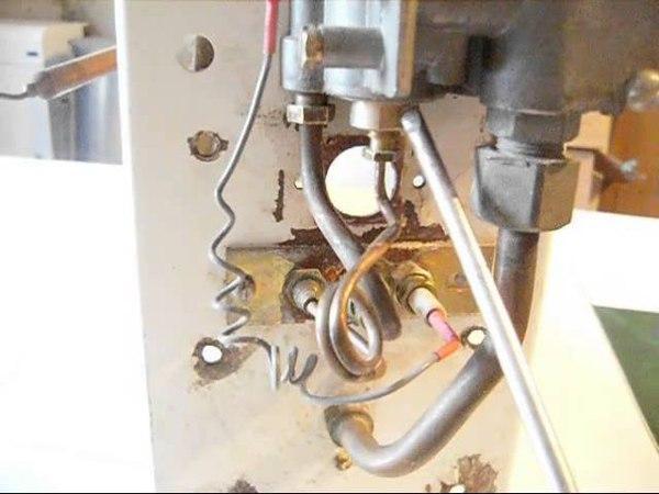Тухнет котел не зажигается фитиль (запальник). EUROSIT 630.