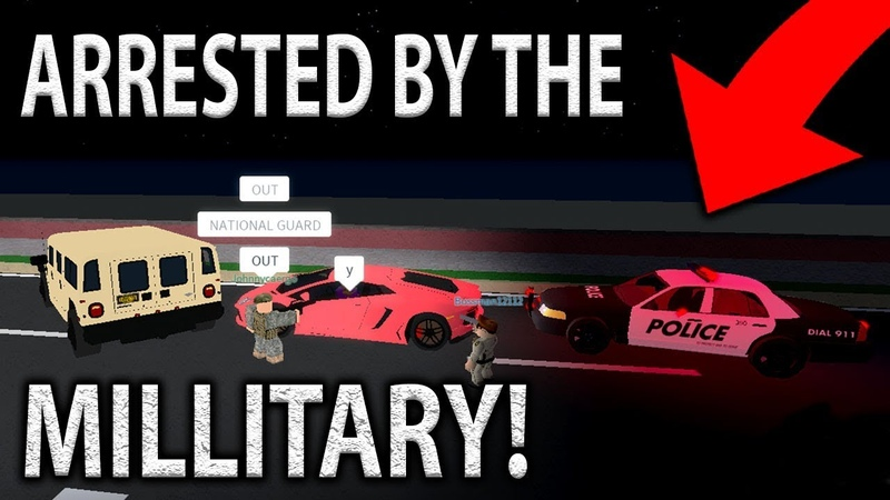 I Got *ARRESTED* By The MILITARY (EP5) | Ultimate Driving Roblox!