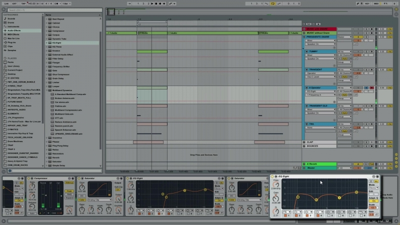 Academy.fm - Advanced Synthesis Creating Dubstep Snares in Ableton's Operator