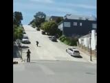 Трюкач на движениях