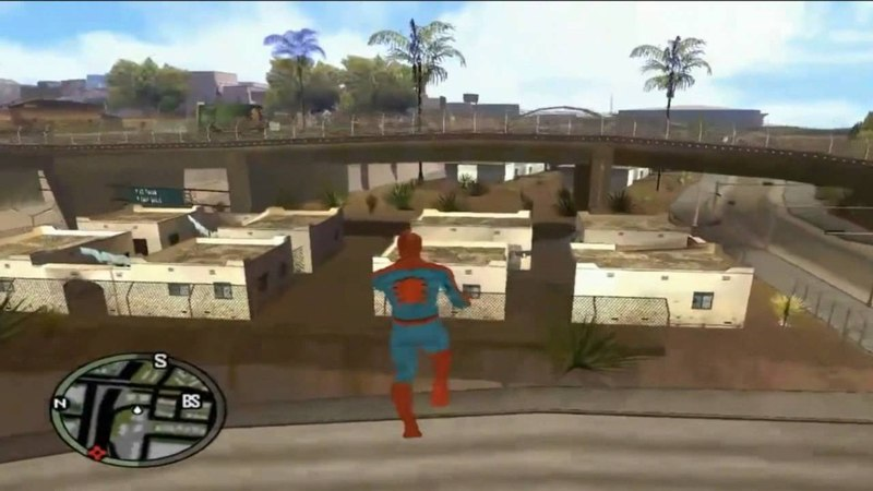 GTA San Andreas тук тук тук я человек паук