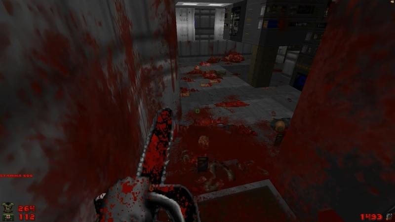 2002 A Doom Odyssey | E1M4: Substation 537A [Brutal Doom: Black Edition v3.1d] » Freewka.com - Смотреть онлайн в хорощем качестве