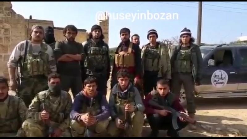Suriye Milli Ordusuna (ÖSO) bağlı 1. Kolordu Afrinin Cinderesi Cindeyris kasabasına bağlı İşkan Garbi köyünü terör örgütü YPG
