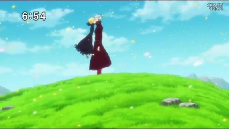 Момент из 12 серии аниме Семь смертных грехов 2 сезон Nanatsu no Taizai