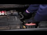 Peugeot 307 (Пежо 307) замена воздушного фильтра двигателя своими руками