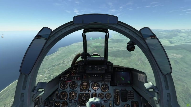 DCS World - Su-27 - Pugachevs Cobra Landing - Су-27 - Кобра Пугачева с посадкой