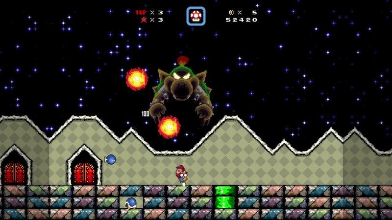 Super Mario Bros. X (SMBX) playthrough - Bowser's Epic Boss Rush