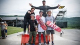 Flip Skateboards Bump to Barrier Contest