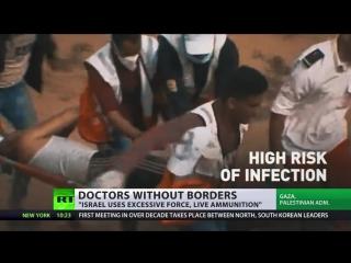 4 morts, 883 blessés alors que les FDI entrent en conflit avec les manifestants #GreatReturnMarch - Pal. Le ministère de la sant