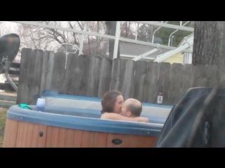 Real uncle-niece hidden cam